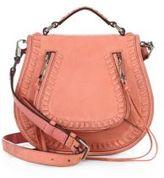 Rebecca Minkoff Small Vanity Nubuck Saddle Bag