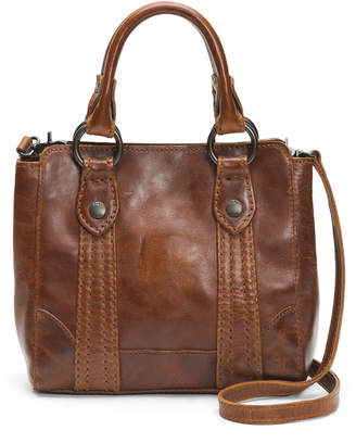 Frye Melissa Mini Antique Leather Crossbody Tote Bag