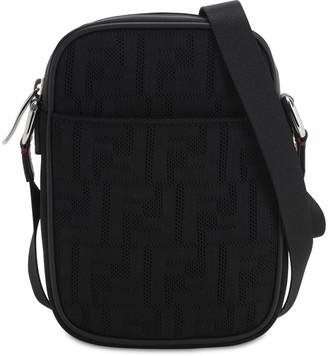 Fendi Ff Mesh Rete Cross Body Bag