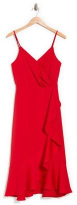 Lucy Paris Mandi Sleeveless Ruffled Midi Dress