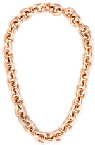 Eddie Borgo Crystal Pave Chain-Link Necklace