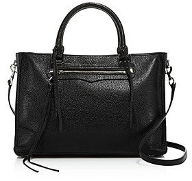 Rebecca Minkoff Regan Medium Leather Satchel