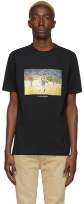 Marcelo Burlon County of Milan Black El Gaucho T-Shirt