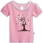 Kickee Pants Print Puff Tee (Baby) - Cherry Tree-0-3M