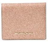 MICHAEL Michael Kors Flap Faux Leather Card Holder