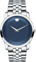 Movado 0606982 museum classic stainless steel watch
