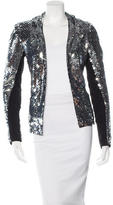 Les Chiffoniers Embellished Open Front Jacket w/ Tags