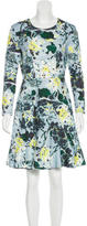 Erdem Neoprene Printed Dress