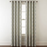 JCP HOME JCPenney HomeTM Teagan Grommet-Top Curtain Panel