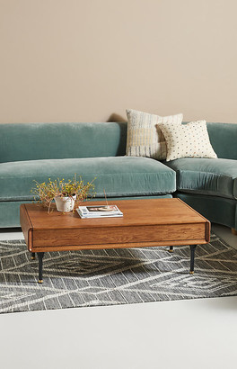 Kalmar Hidden Storage Coffee Table By District Eight in Brown Size ALL