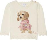 Ralph Lauren Puppy cotton jumper 6-24 months