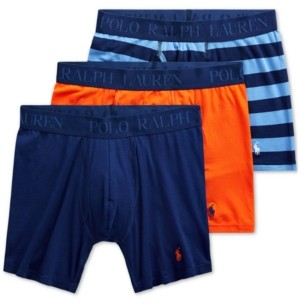 Polo Ralph Lauren Men's 4D-Flex 3-Pack Boxer Briefs