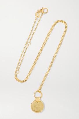 Foundrae Amate 18-karat Gold Necklace