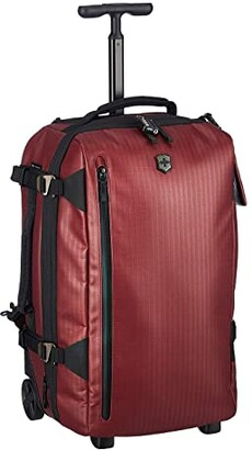 Victorinox VX Touring Coated Wheeled 2-in-1 Carry-On/Backpack (Beetroot) Luggage