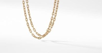David Yurman Dy Madison Chain Bold Necklace In 18K Gold, 6Mm