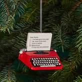 Kurt Adler Vintage Typewriter Ornament