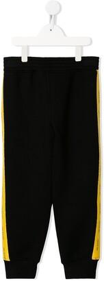 Neil Barrett Kids Logo Side Panelled Track Pants