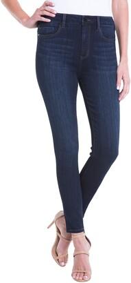 Liverpool Bridget Coated High Waist Skinny Jeans