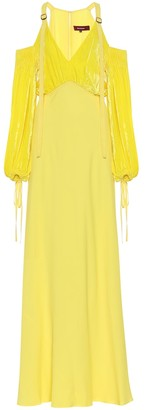 Sies Marjan Carter silk and cotton maxi dress