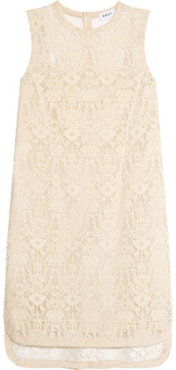 DKNY Velvet Lace Mini Dress