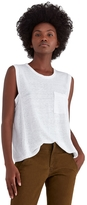 A.L.C. Sean Pocket Sleeveless Tee