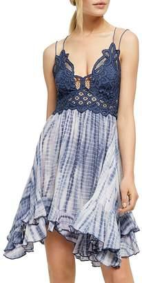 Free People Adella Slip Tie-Dye Dress