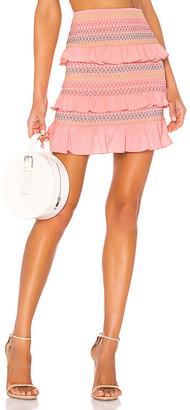 Lovers + Friends Kora Mini Skirt