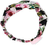 Dolce & Gabbana rose detail headband