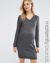 Mama Licious Mama.licious Mamalicious Maternity Sweater Dress