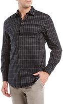 Perry Ellis Plaid Sport Shirt
