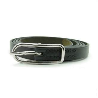 Hermes Hapi Black Leather Bracelets
