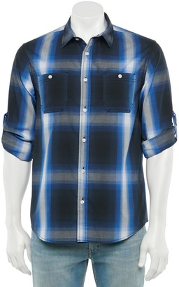 Urban Pipeline Men's Plaid Button-Down Shirt