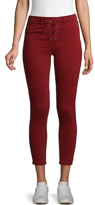 L'Agence Skinny Cropped Jeans