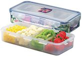 Lock & Lock Classic Rectangular Food Container with Divider, 1.6L