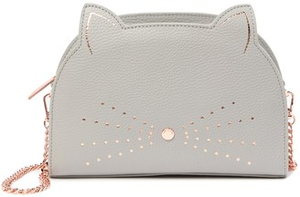 Ted Baker Kirstie Cat Leather Crossbody Bag