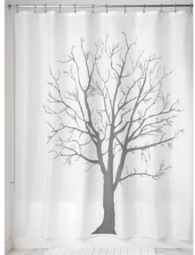 "InterDesign Botanical Tree 72"" x 72"" Shower Curtain Bedding"