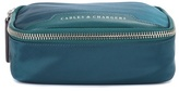 Anya Hindmarch Fabric and leather cosmetic case
