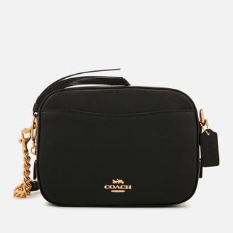Coach Women's Polished Pebble Leather Camera Bag - Black