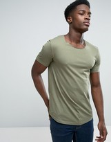 Esprit Longline Scoop Neck T-Shirt