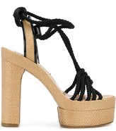 Casadei braided rope sandals