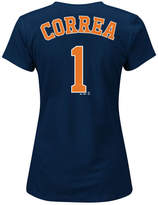 Majestic Women's Carlos Correa Houston Astros Player T-Shirt
