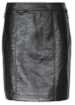 Marc by Marc Jacobs Faux leather miniskirt