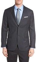 Jack Spade Men's Trim Fit Plaid Wool Sport Coat