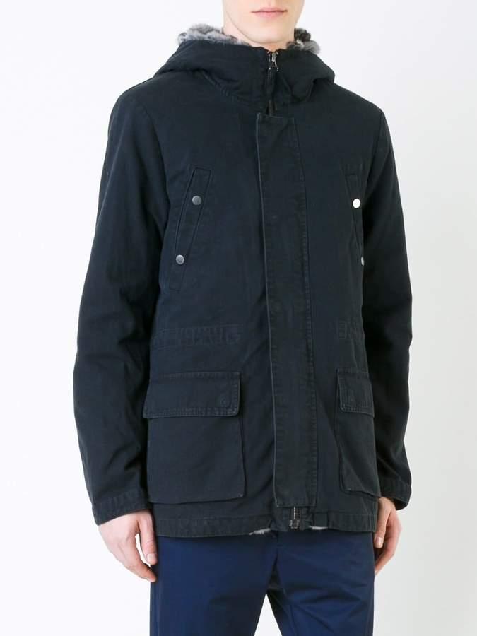 Yves Salomon fur-lined parka jacket