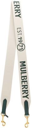 Mulberry 1971 Logo Bag Strap