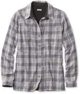 L.L. Bean L.L.Bean Fleece-Lined Flannel Shirt