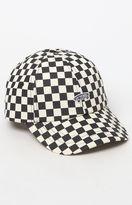 Vans Checkerboard Black & White Strapback Dad Hat