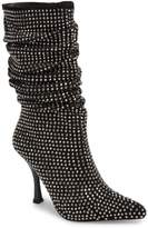 Jeffrey Campbell Women's Die4U Crystal Embellished Slouch Boot