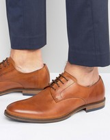 Dune Brummie Leather Derby Shoes