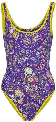 Etro Floral swimsuit